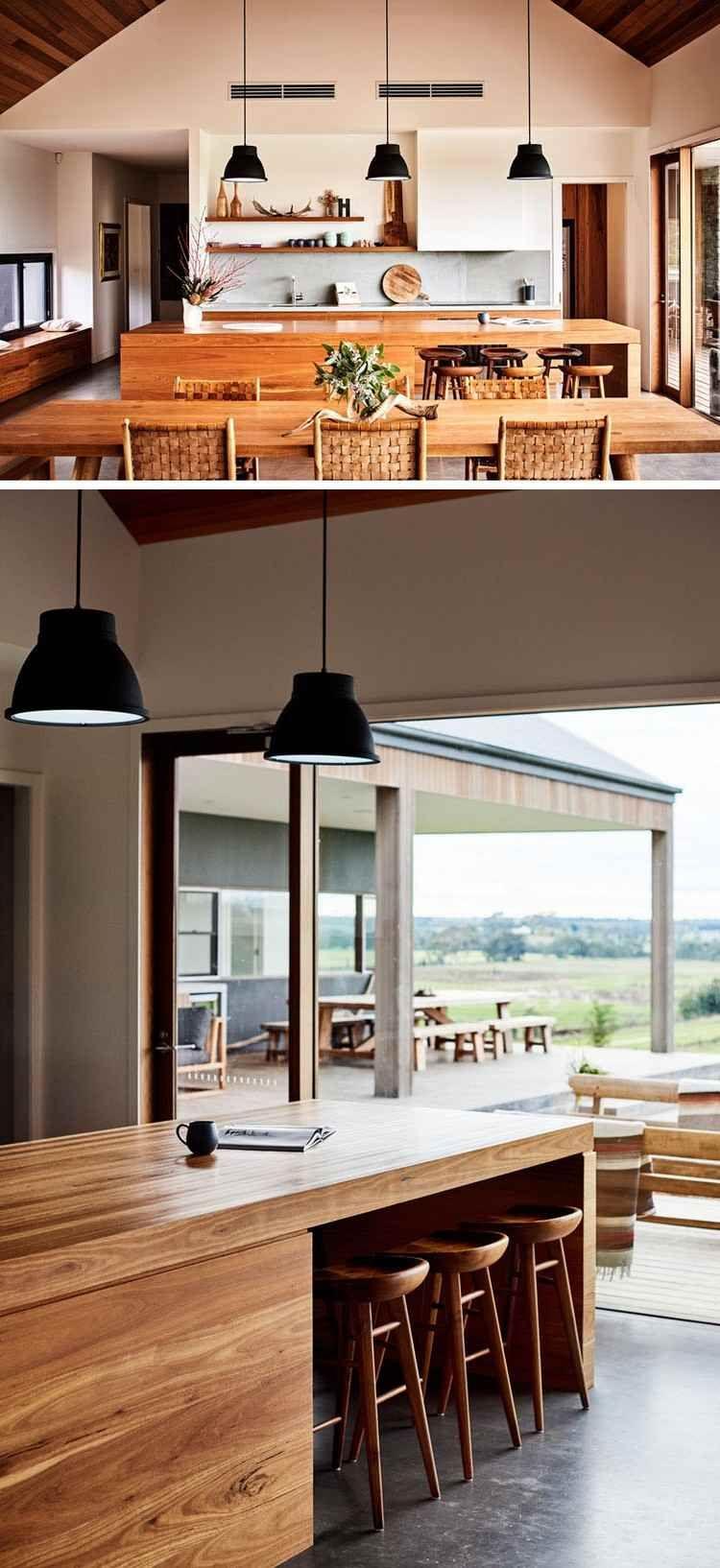 Amenagement Interieur Maison Un Ranch Au Style Moderne Et Rustique