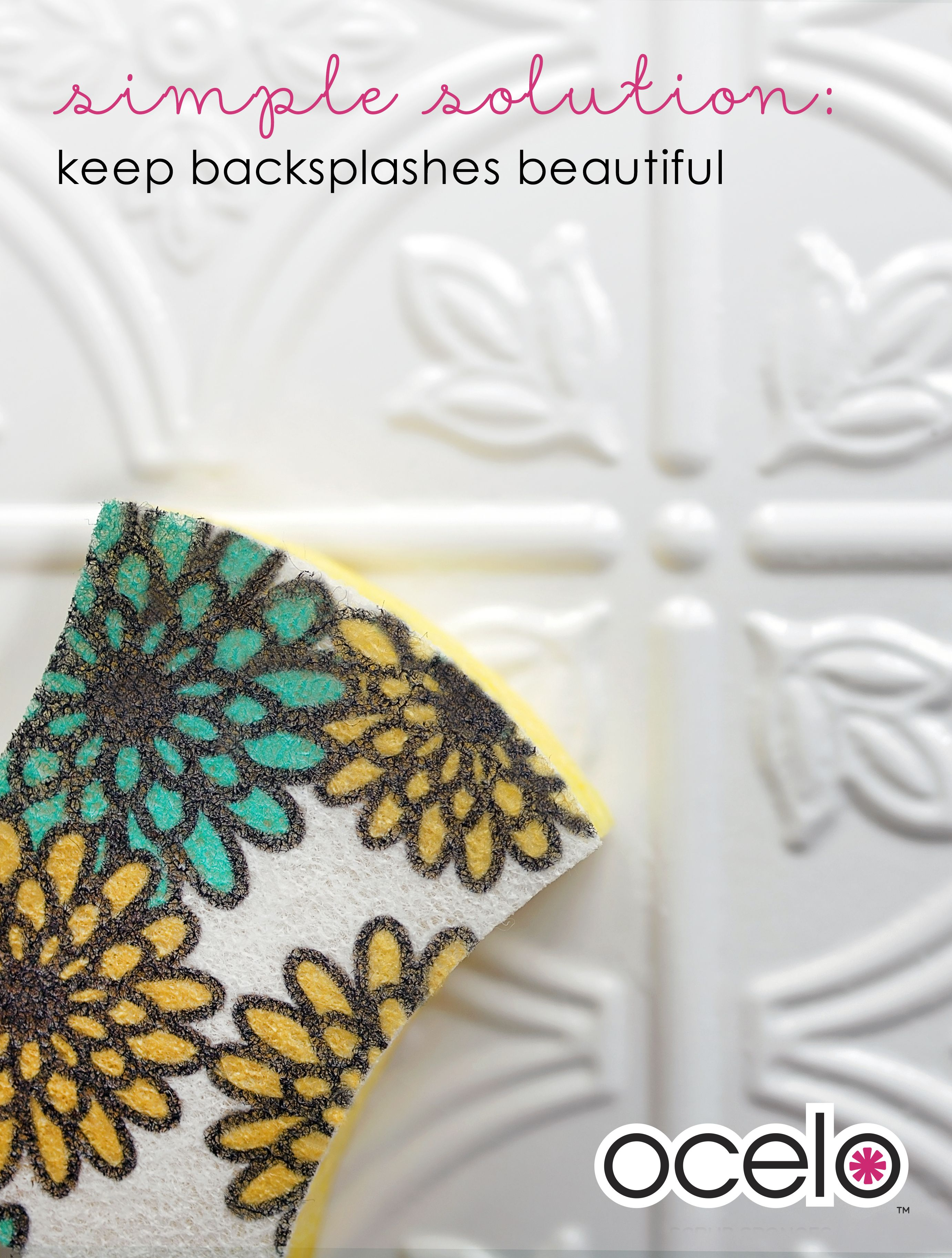 Keep beautiful backsplashes clean with this simple solution use a