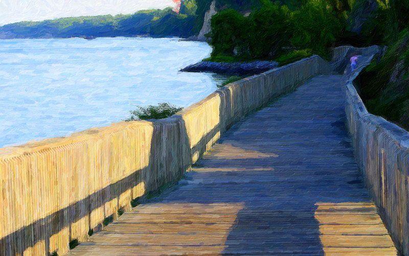 Chesapeake Beach Md Boardwalk By The Bay