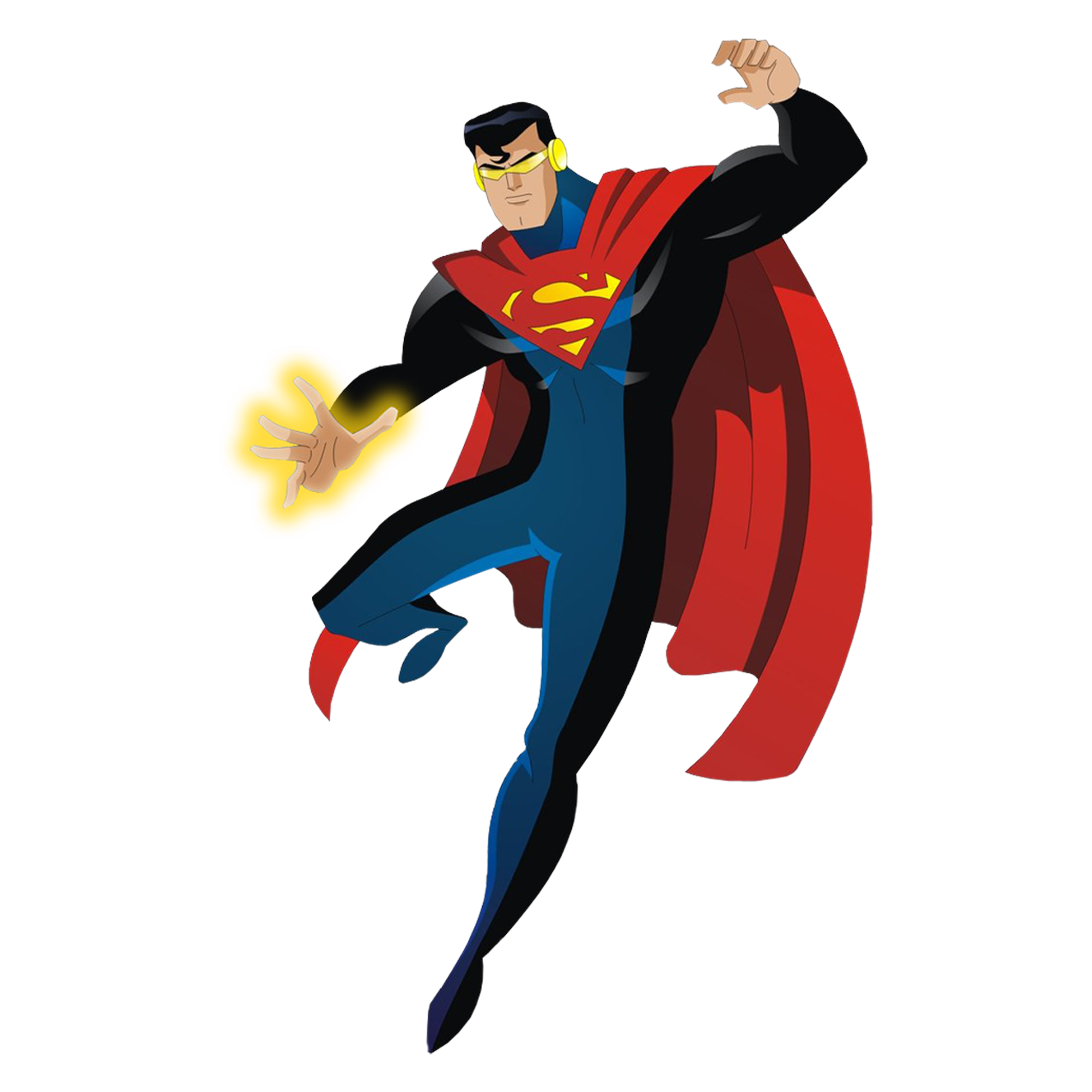 "The Eradicator, done in the ""Superman The Animated Series"