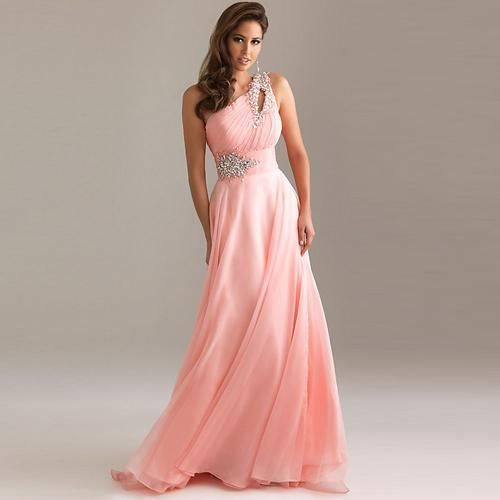 Formal dresses long | Long Pink Prom Dresses Collection for Sweet ...