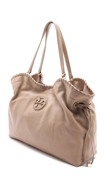 Tory Burch Marion Slouchy Tote. My new obsession! Gots to have!!