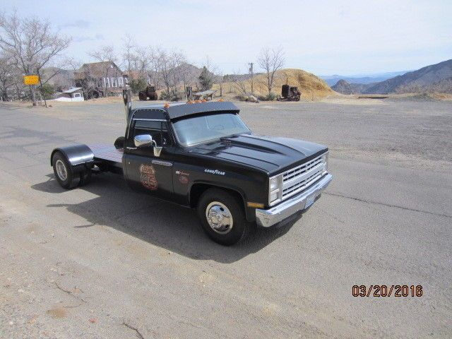 Chevy custom deluxe dually | 1986 Chevrolet C60 Custom Deluxe T/A
