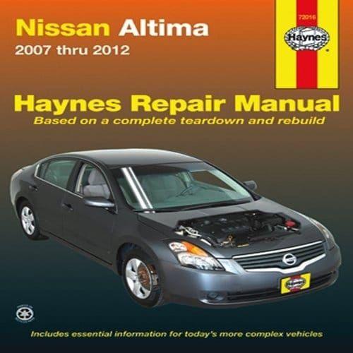 haynes repair manuals nissan altima 07 10 72016 nissan altima rh pinterest com 2003 Nissan Altima Repair Manual Nissan Altima Troubleshooting Guide