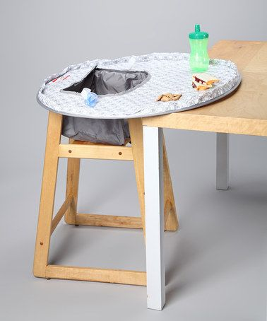 Another great find on #zulily! Miami High Chair Cover/Place Mat ...