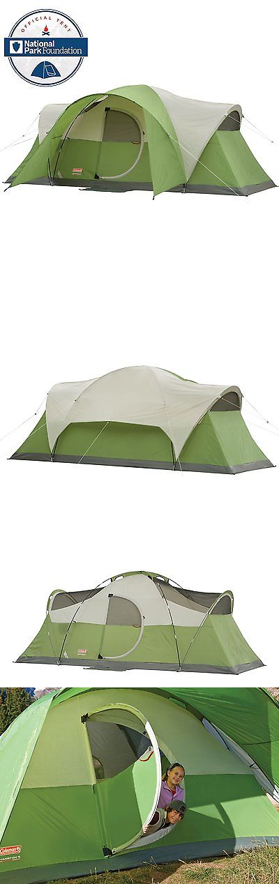 Tents 179010 Brand New! Coleman Montana 8 Tent With Modified Dome Structure 16 X  sc 1 st  Pinterest & Tents 179010: Brand New! Coleman Montana 8 Tent With Modified Dome ...