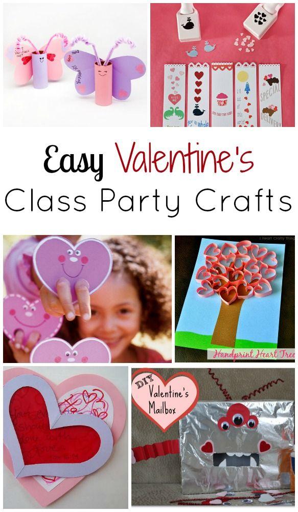 saint valentin facile artisanat du parti de classe