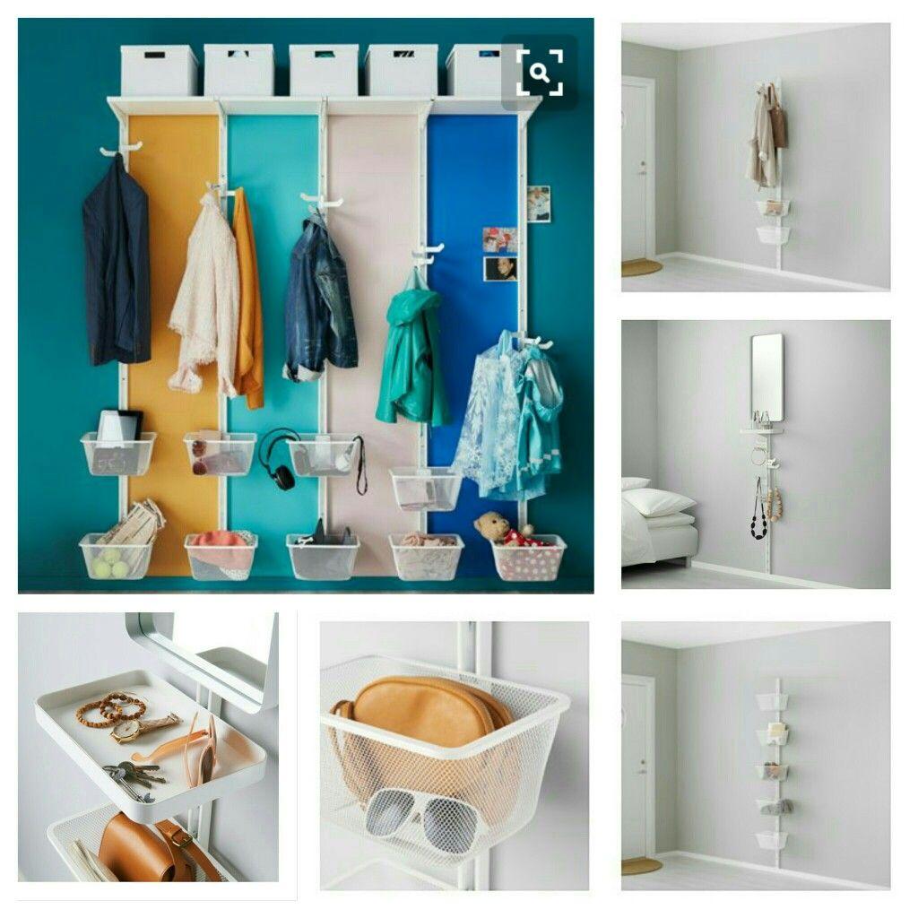 Ikea algot inspiration | Mudroom | Pinterest | Ikea algot, Mud ...