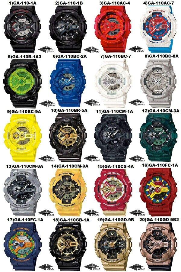 GA-110 Serie G Shock Watches 9d2928292