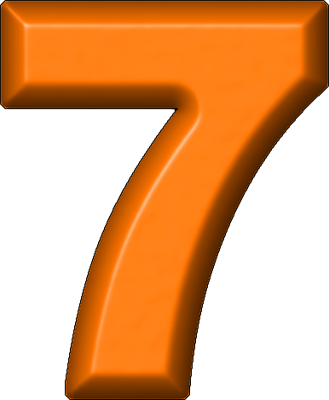 Presentation Alphabets Orange Refrigerator Magnet 7 Alphabet Kid Fonts Alphabet And Numbers