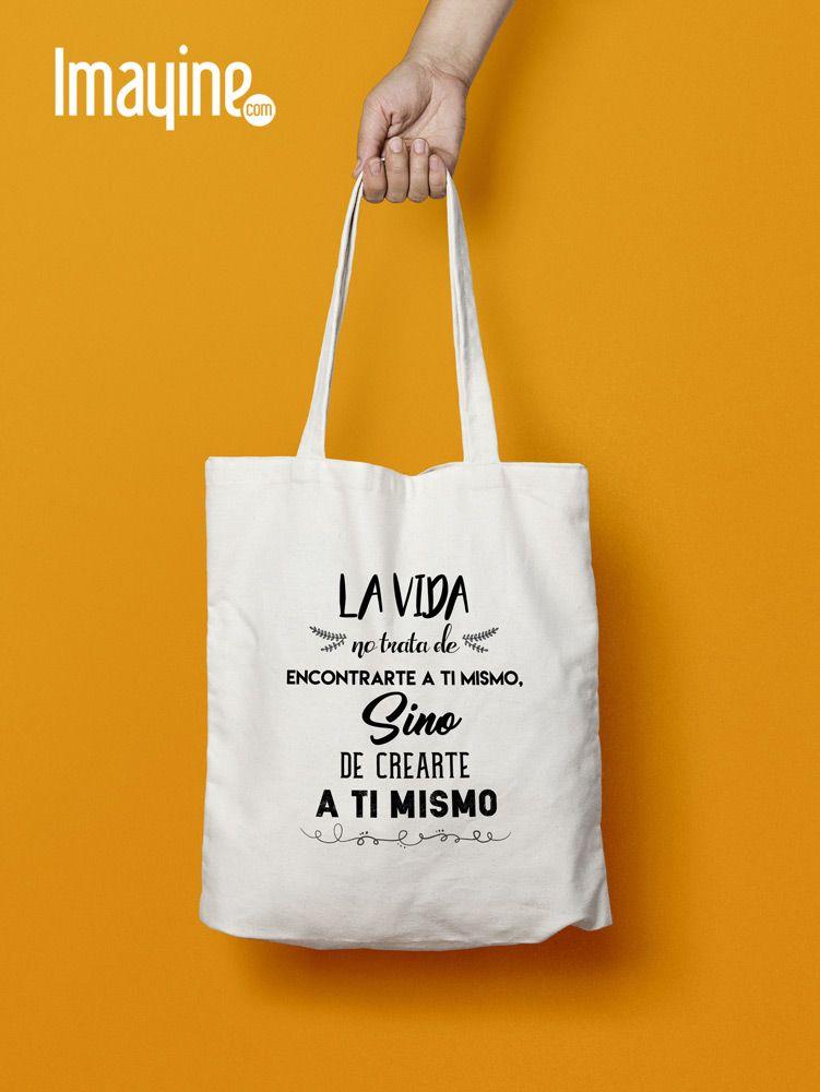 comprar lujo selección especial de Códigos promocionales BOLSO FRASE   Promo/Totes, Bags, Backpack   Bolsos de tela ...