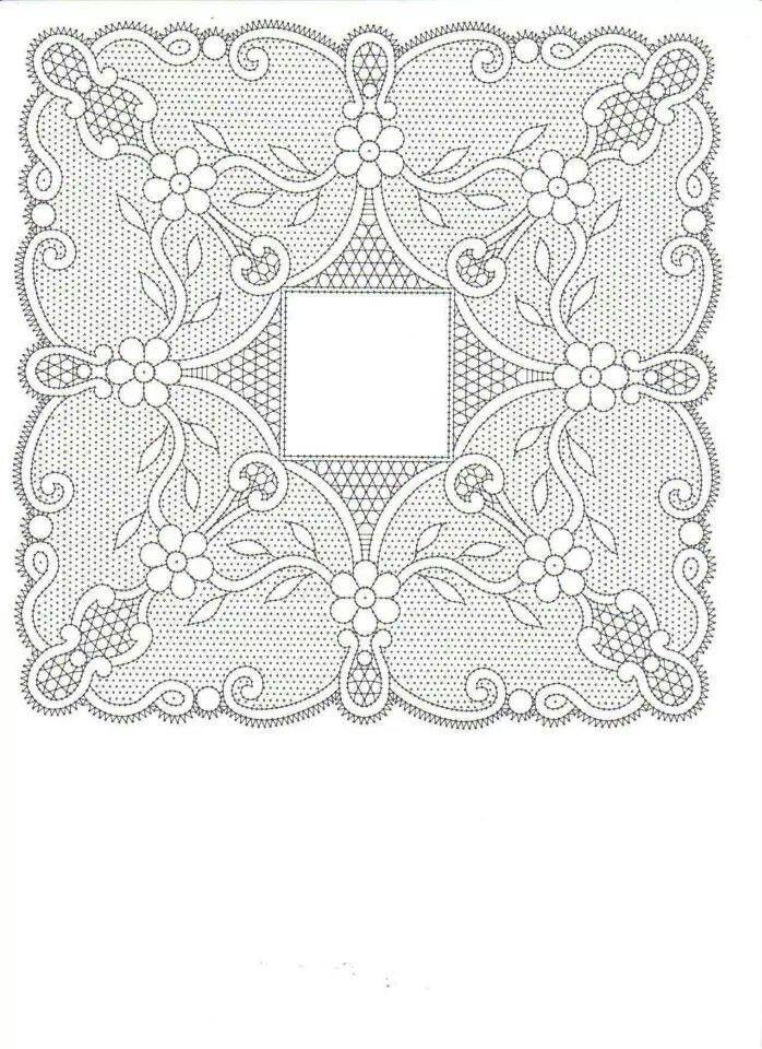 Resultado de imagen de hardanger patrones gratis   Bolillos - Mi ...