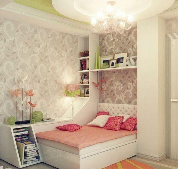 Lieblich Jugendzimmer Für Mädchen Inspirierende Ideen (594×562)