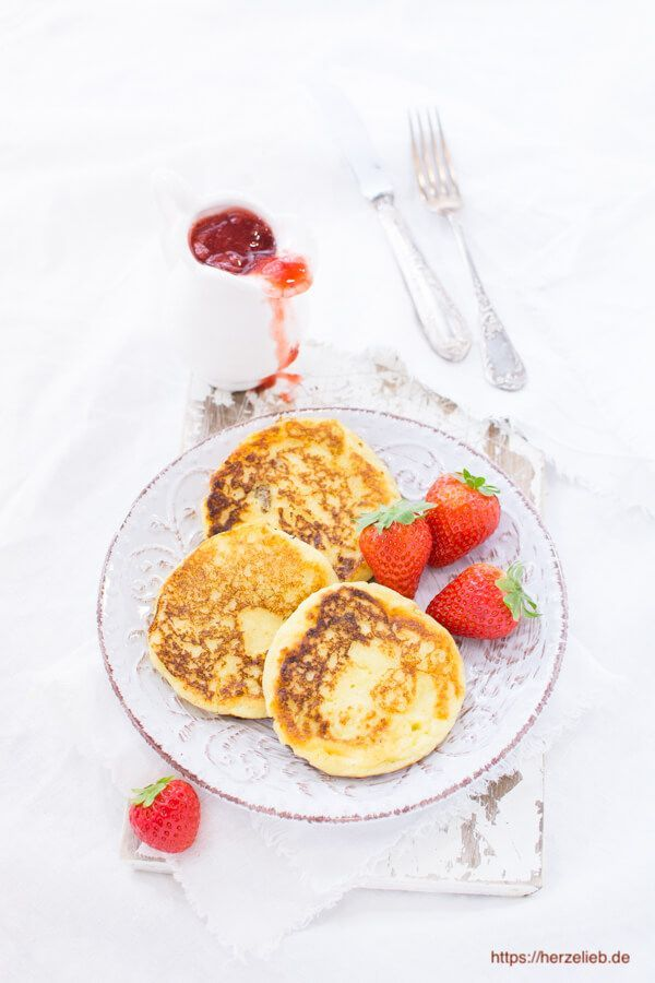 Rezept für Grießpfannkuchen - sie schmecken groß und klein! (Süßigkeiten)   - Rezepte -