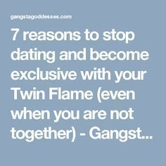 How long after dating become exclusive