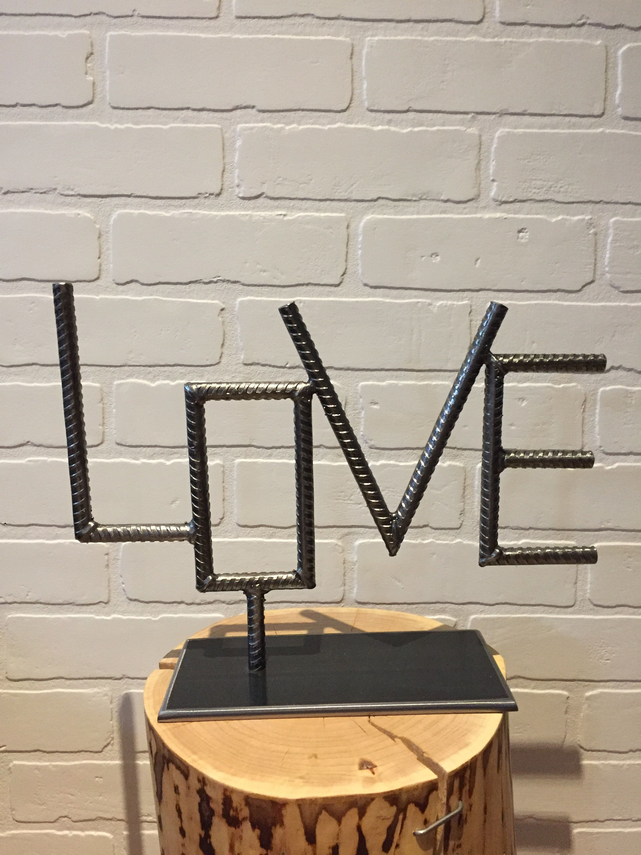 Love rebar by yanick bluteau welding pinterest welding love rebar by yanick bluteau solutioingenieria Image collections