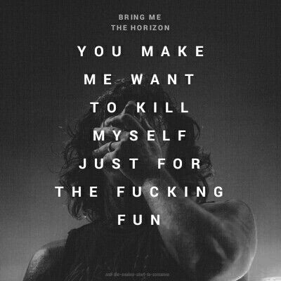 What You Need -Bring Me The Horizon