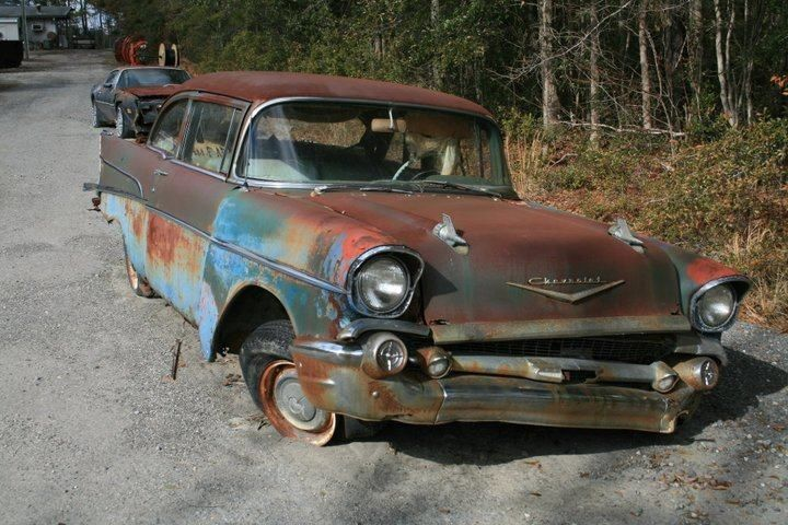 Photo By Lori Harris Rusty The Car Junkyard Cars Abandoned