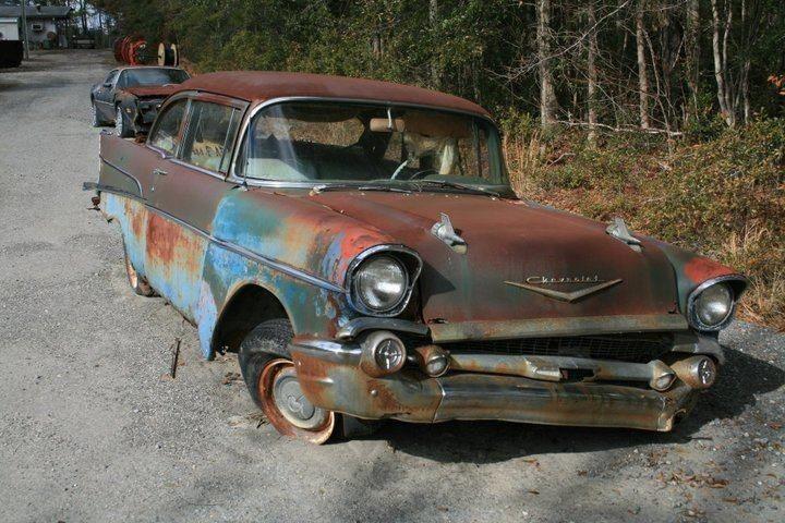 Photo By Lori Harris Rusty The Car Junkyard Cars Abandoned
