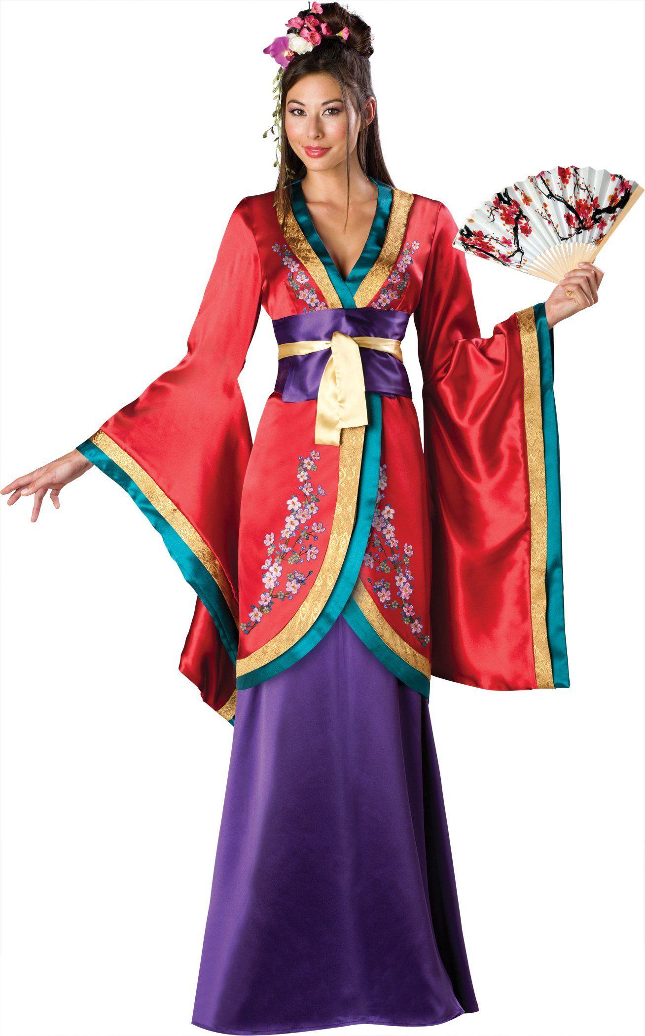 dragon geisha adult costume kost m. Black Bedroom Furniture Sets. Home Design Ideas