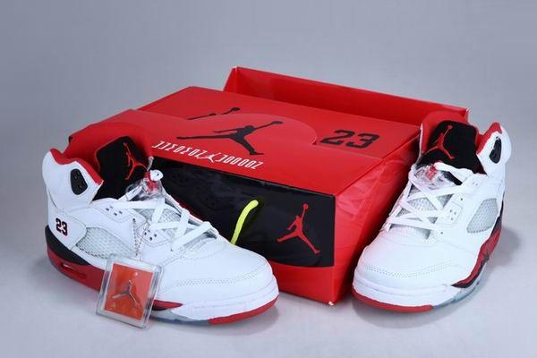 Air Jordan 5 Fire Red Custom