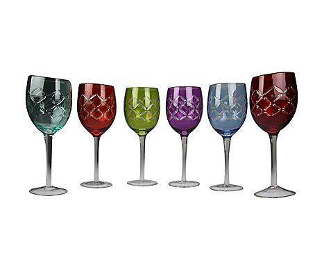 Gläser-Set Colores, 6-tlg.