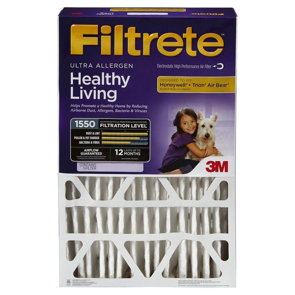 Filtrete Ultra Allergen 20x25x4 Air Filter Air Filter