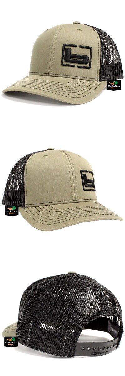 da609cfc203 Hats and Headwear 159035  New Banded Gear Trucker Cap Hat Loden Black W B  Side Logo