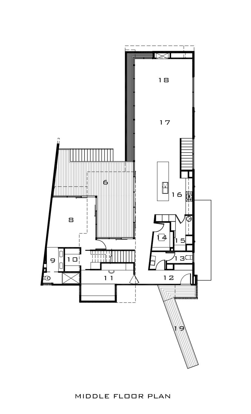 modern home architecture blueprints. Beautiful Blueprints World Of Architecture Kew House With Two Faces Melbourne  Worldofarchi  Architecture Modern Home House FloorPlan Intended Modern Home Architecture Blueprints