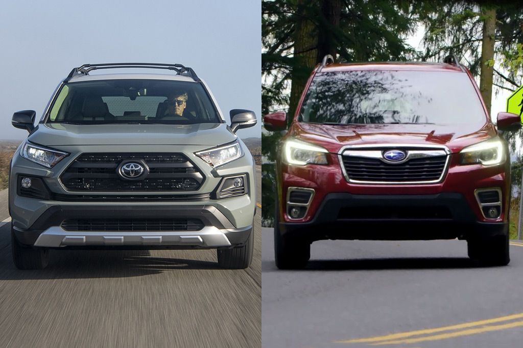 2019 Toyota Rav4 Vs 2019 Subaru Forester Which Is Better Best