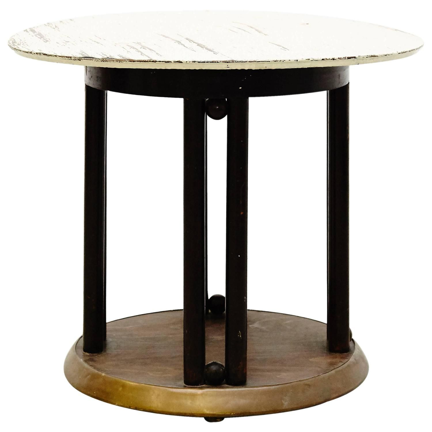 Josef Hoffmann Side Table For Kohn Circa 1920 Tables Modern  # Muebles Fischel