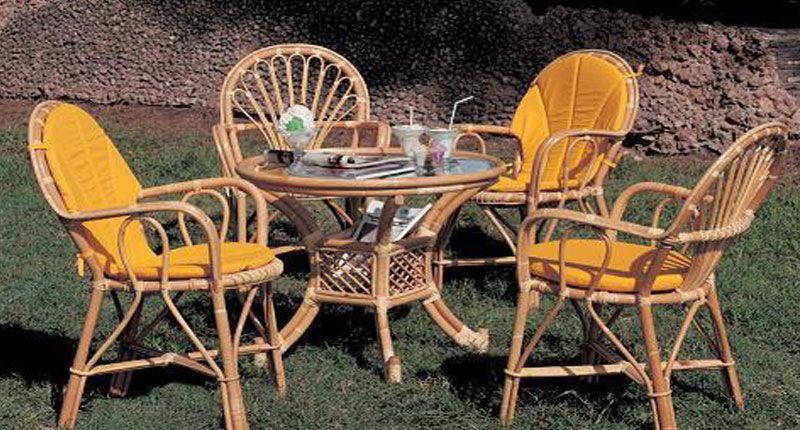 Mimbre Rattan Comedores Muebles Para Terrazas Muebles Terraza Jardin De Exterior