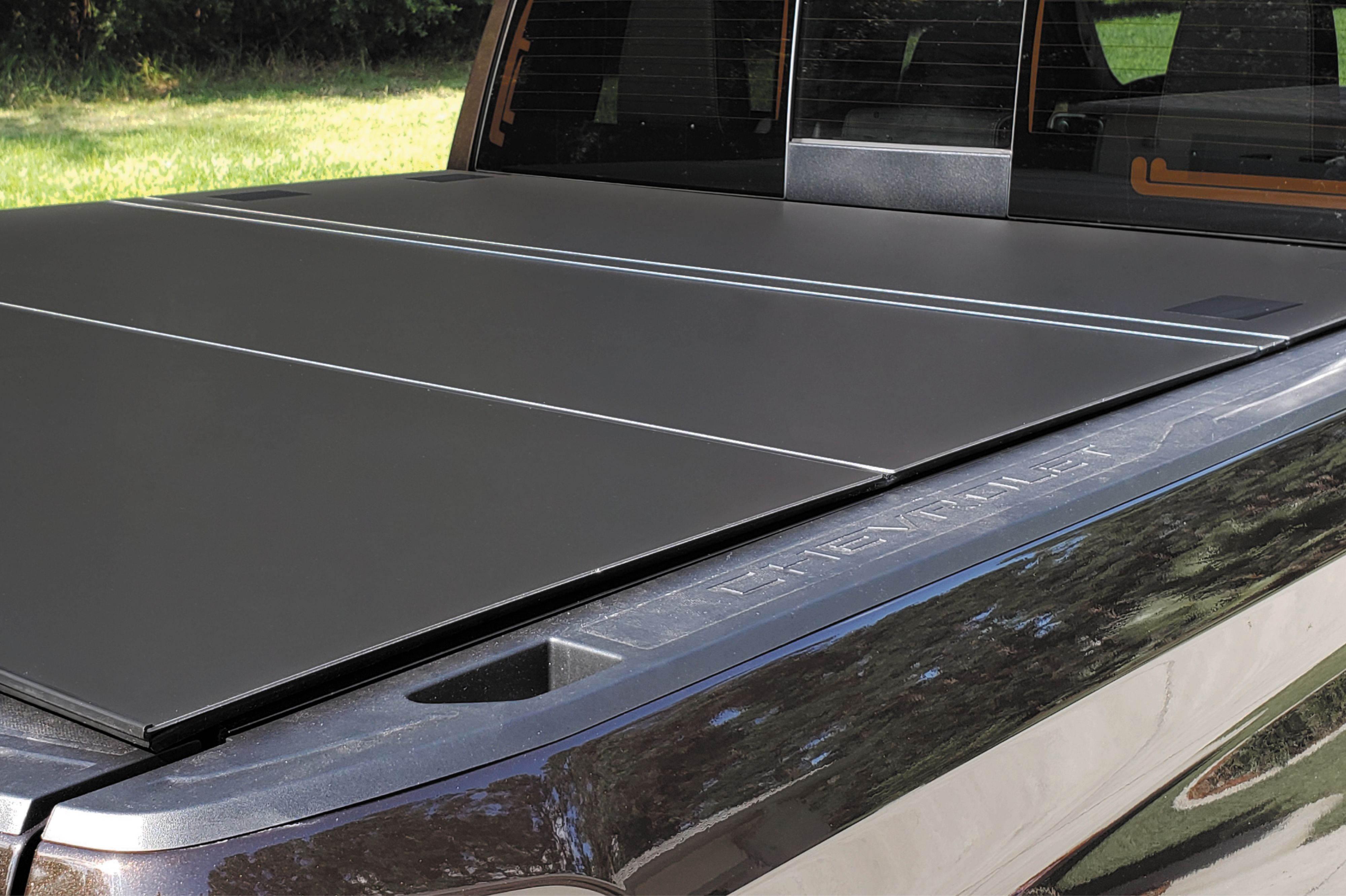 Installed On My 2019 Silverado Looks And Fits Great Doug H Lomax Hard Tri Fold Cover Truck Bed Covers Tonneau Cover Hard Tonneau Cover