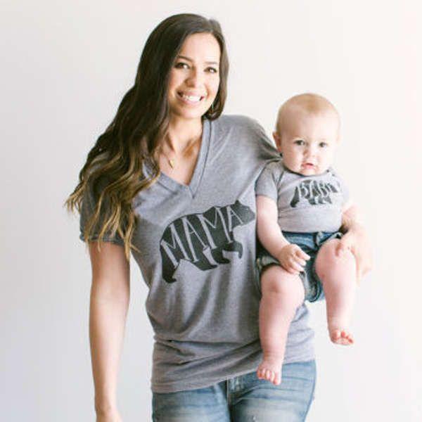 Fabulous Tee-shirt et body BEAR | Mères filles, Telle mère telle fille et  LV36