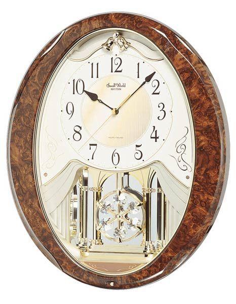 Rhythm Joyful Snowflake Musical Motion Wall Clock Hymns And Christmas Melodies Rhythm Clocks Wall Clock How To Make Wall Clock