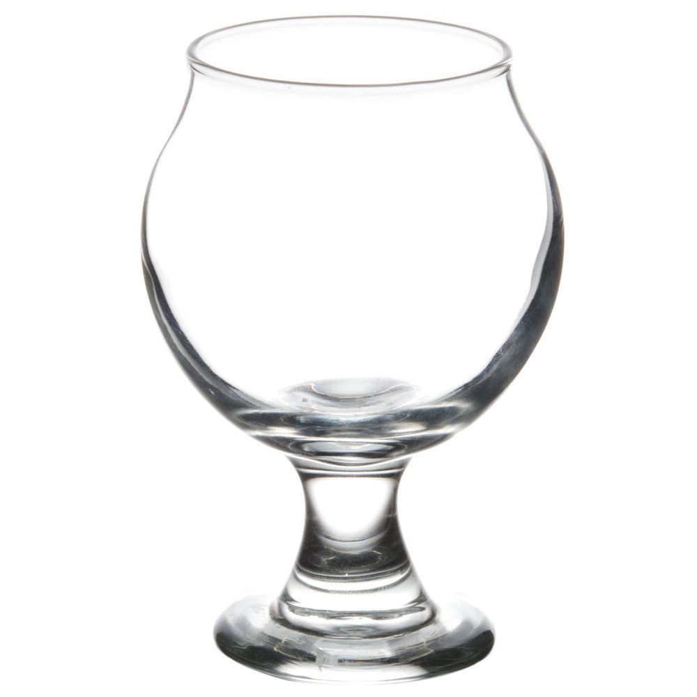 belgian beer taster glass 24 case