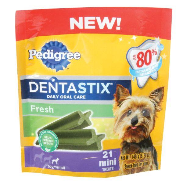 Pedigree Dentastix Mini Dog Sticks Dental Treats Petsmart Mini Dogs Mini Treats Dog Dental Care
