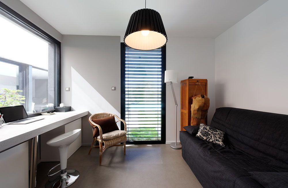 Bureau moderne avec terrasse c mires paris