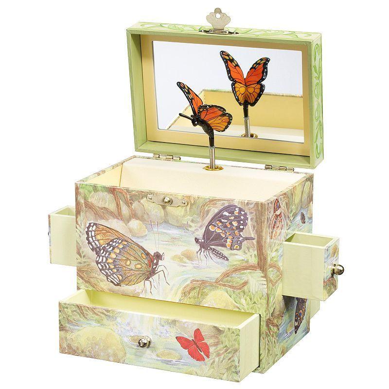 Breyer Enchantmints Monarch Music and Treasure Box, Multicolor