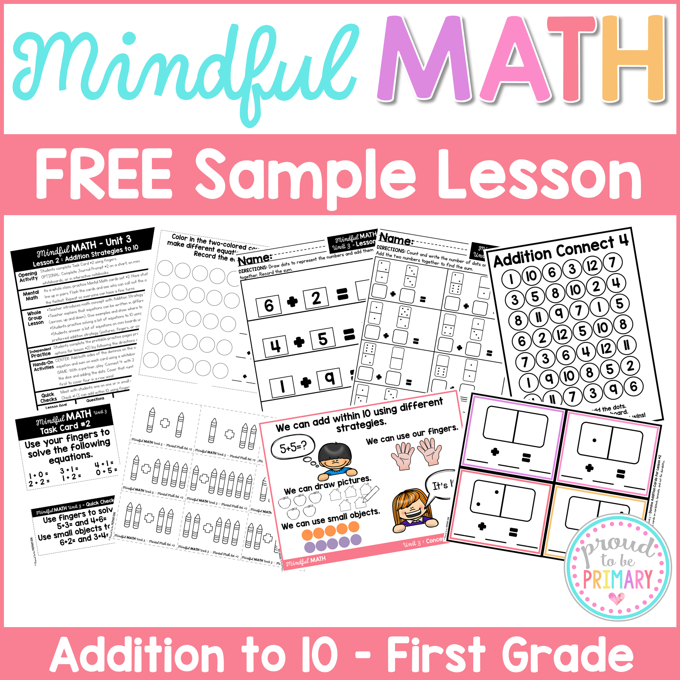 The One Math Program You Need Mindful Math For K 2