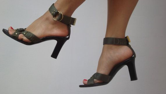 Authentic Christian Dior Sandals / EU 38 US 7.5 by DanielaDavid,