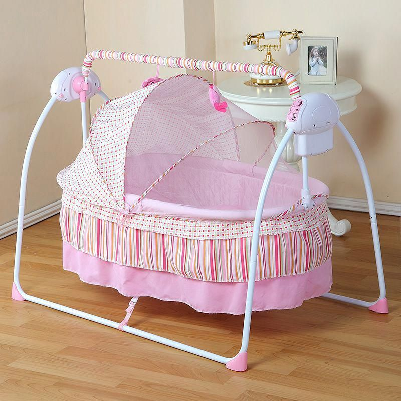 Fashion Electric Baby Crib/Baby Cradle , Electric Baby