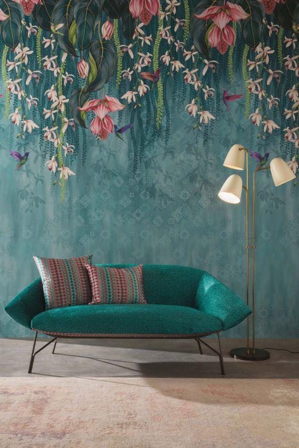 Tree Design Wallpaper Living Room: Trailing Orchid By Osborne & Little