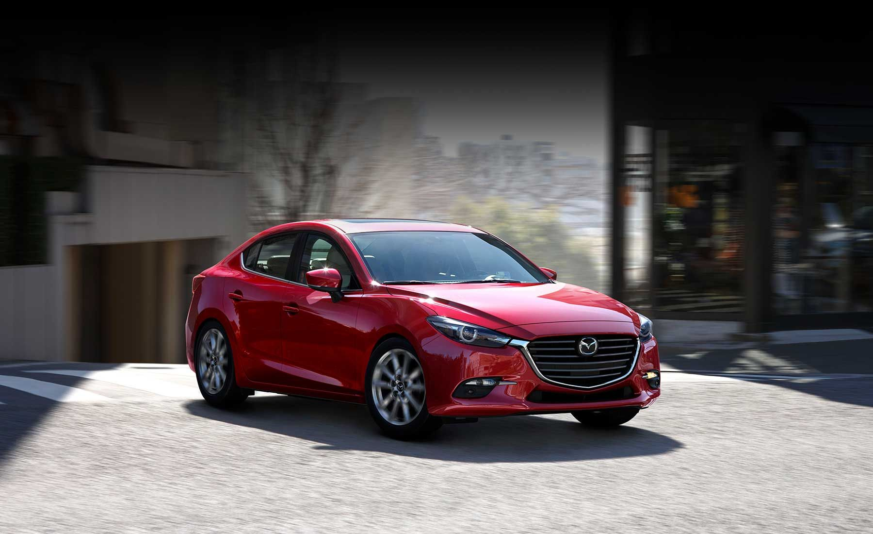 2017 Mazda 3 Sedan Fuel Efficient Compact Car Mazda Usa
