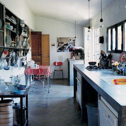 Des cuisines en longueur  inspirations Cuisine, Kitchens and - Plan Maison En Longueur