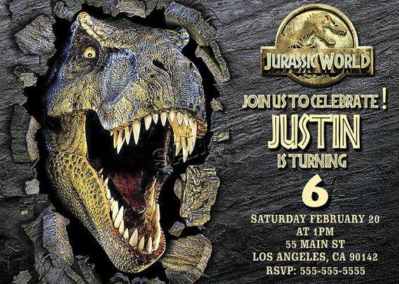 Pin De Guies Ortiz En Evento Invitaciones De Dinosaurios