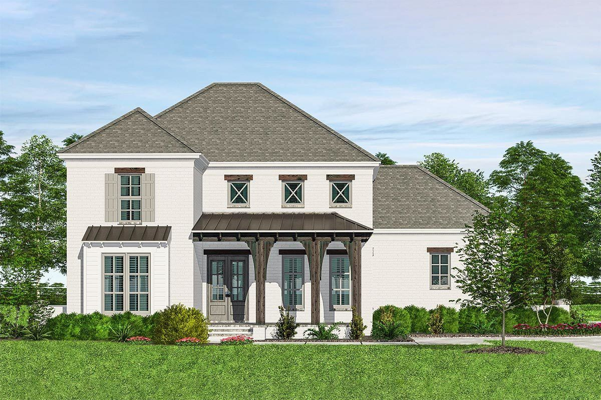 Plan 510072wdy Magnificent Acadian House Plan With Screened Porch Acadian House Plans House With Porch House Plans
