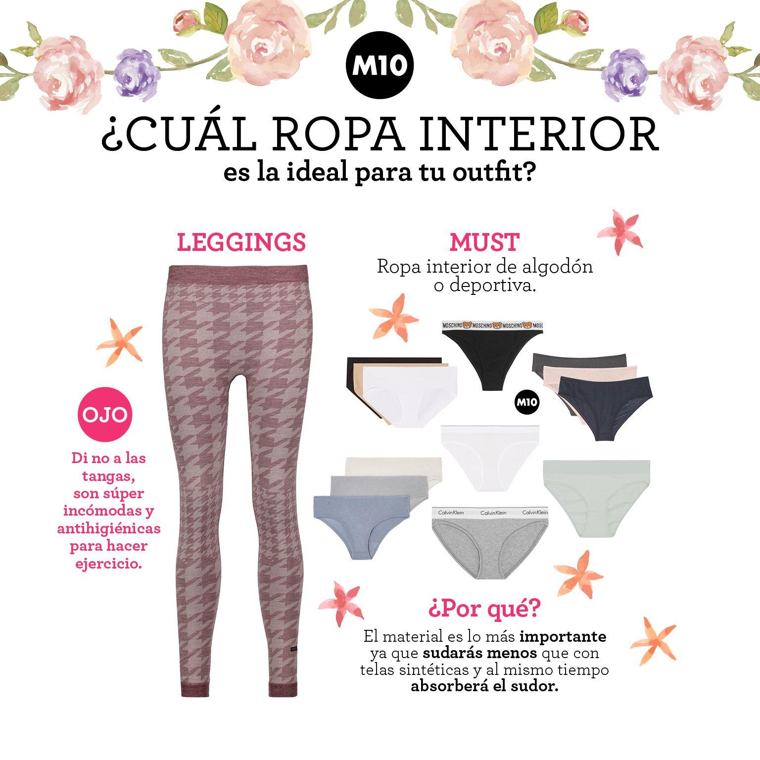 636b768884 Qué tipo de ropa interior usar con cada prenda