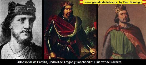 Resultado de imagen para Fotos de Alfonso VIII de Castilla y Alfonso II de Aragón
