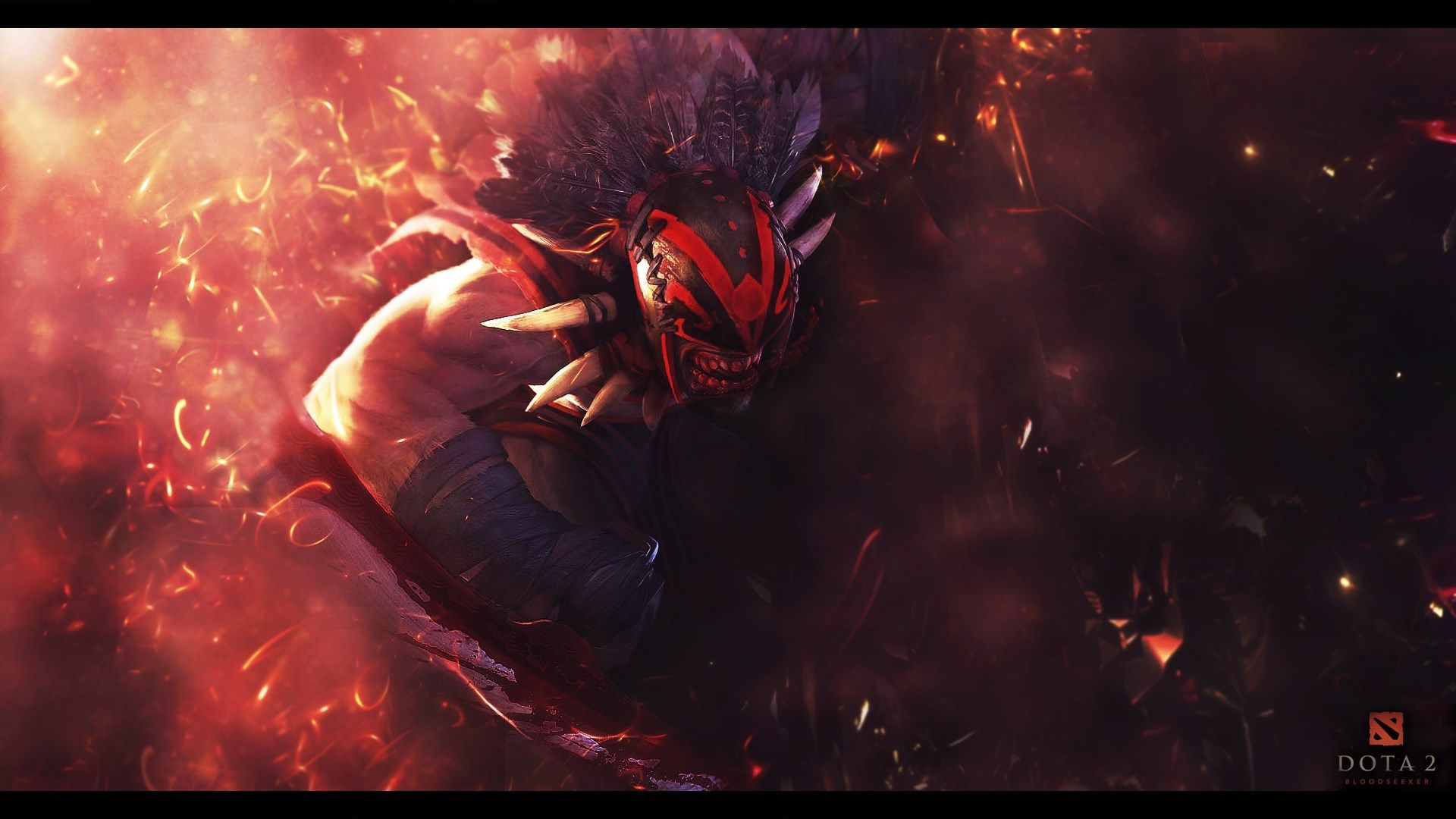 X Bloodseeker Dota  Wallpaper Hd